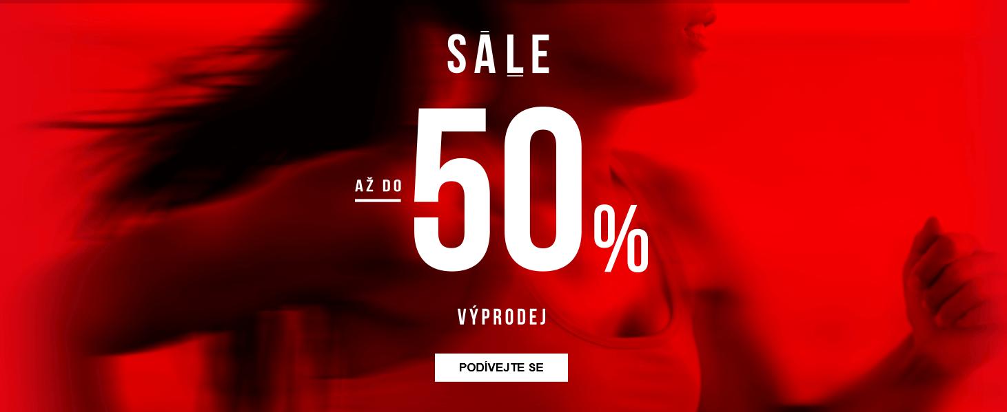 Výprodej se slevami až 50 %