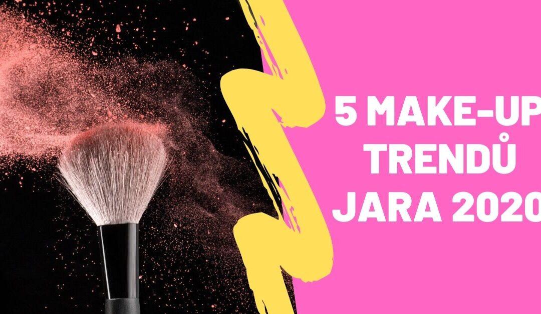 5 make-up trendů jara 2020